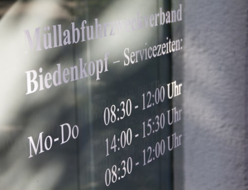 Servicetelefone des Müllabfuhrzweckverbandes Biedenkopf am 14. Mai nicht besetzt