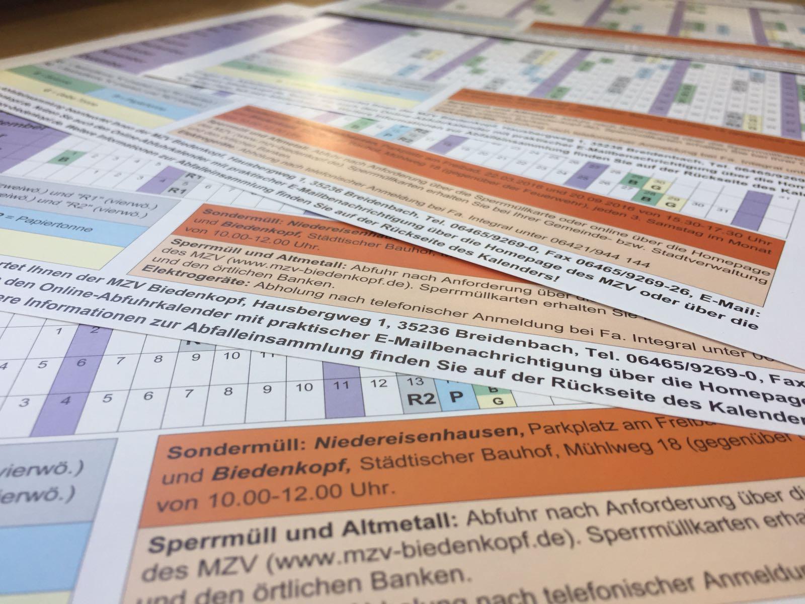 Müllabfuhrkalender: Versand vor Weihnachten – Müllabfuhrzweckverband ...
