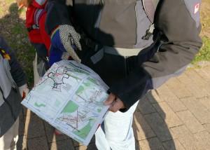 Karte von Fronhausen zeigt Reinigungsgebiete