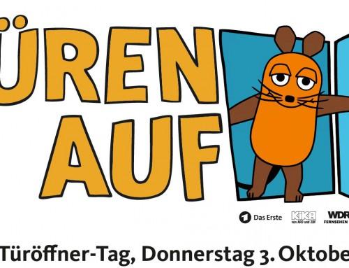 Der Müllabfuhrzweckverband Biedenkopf beim Maus Türöffner-Tag am Hofgut Fleckenbühl