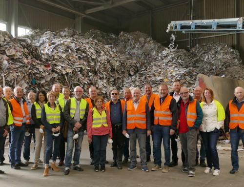 Verbandsfahrt des Müllabfuhrzweckverband führt Teilnehmer nach Limburg