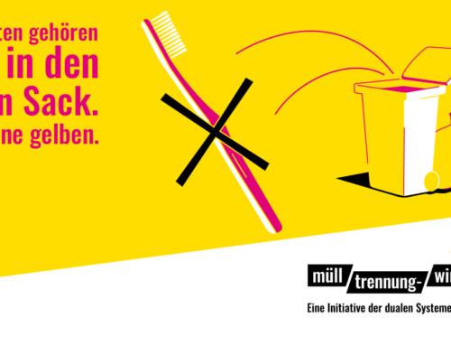 """""""Mülltrennung wirkt"""" – Eine Kampagne der dualen Systeme Deutschland"""
