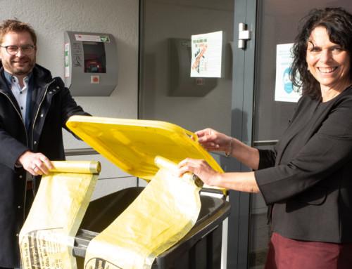 Die Mitgliedskommunen des MZV dürfen sich freuen –  der Gelbe Sack ist zu 99% Geschichte
