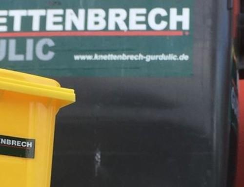 Bei Fragen zur Gelben Tonne: KNETTENBRECH + GURDULIC ist Ihr Ansprechpartner