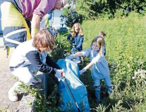 """""""Sauberhafte Landschaft"""" 2021 – Müllsammler entlasten die Natur"""
